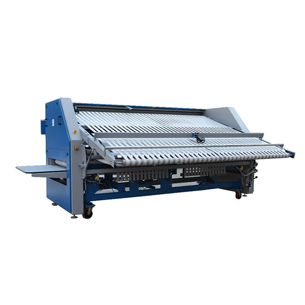 Bed sheet folding machine